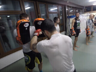 MMA Training at Icon Geneva